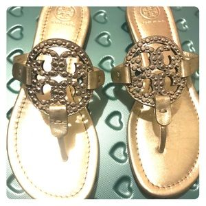 Embellished Tory Burch Millers